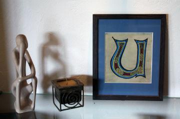 enluminure art moderne décoration intérieure